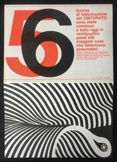 Cinturato Pirelli, 1967
