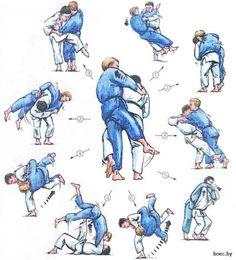 Artes marciales Martial Arts Defensa personal Self defense Judo throws Martial Arts Styles, Martial Arts Techniques, Mixed Martial Arts, Aikido, Kung Fu, Material Arts, Judo Throws, Jiu Jitsu Techniques, Martial Arts Workout