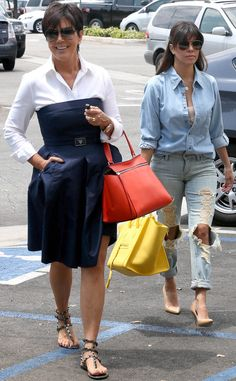 Kris Jenner & Kourtney Kardashian from The Big Picture: Today's Hot Pics!   E! Online