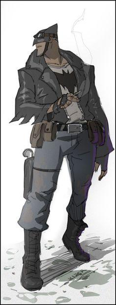 Rockabilly Joker, Batman and Robin Cartoon Style Art - News - GeekTyrant