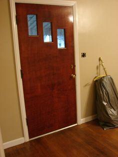 Front door before remodel