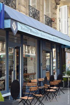 Madame Messieurs Bistrot à croques Paris