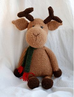 amigurumi brown christmas reindeer, a crocheted stuffed animal for children OOAK and unique.  $44.00 http://www.etsy.com/listing/86967026/amigurumi-brown-christmas-reindeer-a?ref=sr_gallery_6&ga_search_submit=&ga_search_query=Crochet+Amigurumi+stuffed+animals&ga_order=most_relevant&ga_ship_to=US&ga_view_type=gallery&ga_search_type=handmade&ga_facet=handmade