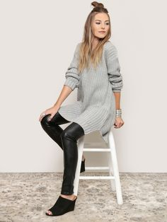 Lunar Rock Sweater Dress $72.00