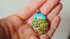 Polymer Clay Projects, Polymer Clay Creations, Polymer Clay Jewelry, Jewelry Crafts, Workshop, Pasta, Pendants, Painting, Ideas