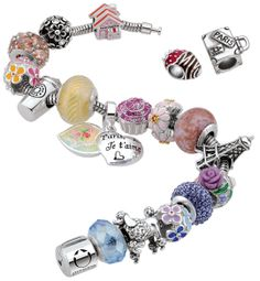 Persona Springtime in Paris bracelet. New Springtime in Paris collection available at www.personaworld.com