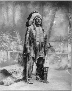 Broken Arm. Oglala Lakota. 1899.