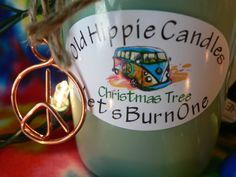 Our Christmas Tree candles are great anytime of the year! These candles have an amazing pine and fir fragrance that smells like a fresh cut Christmas Tree!  Hippiemade in the USA!  100% all natural soy wax & essential oils, we use only cotton or hemp wicks for a clean slow burn every time, all...