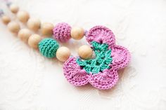 Nursing necklace  butterfly  Breastfeeding necklace  by bysiki, $19.00