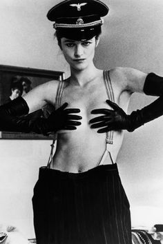 Model: Charlotte Rampling Photo: Helmut Newton A Retro Photo from this months…
