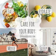 Take care of your body. It's the only one you have.  Fitness | Clean Eating | Beauty | Fashion | Inspiration @ ShyneandInspire.com