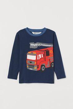 Societee Fire Truck Cute Girls Boys Toddler Hooded Sweatshirt