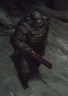 Morbid Fantasy • Skull – horror concept by Yuriy Chemezov