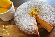 This easy yet amazingly delicious lemon yoghurt cake recipe comes from the Styling You foodie editor, Kristie Welsh. Lemon Drizzle Cake, Dessert Tray, Fabulous Foods, Cupcake Cakes, Cupcakes, Tray Bakes, Just Desserts, Cake Recipes, Sweet Tooth