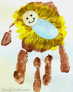 jesus handprint craft for kids