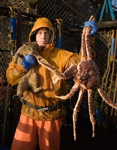 King Crab, Cat and his Fisherman