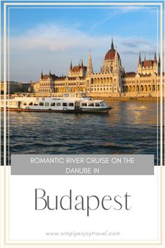 Are you planning a trip to Budapest Hungary? Take a two hours river cruise on the Danube and admire Budapest from a different angle. It's an unforgettable experience. babies flight hotel restaurant destinations ideas tips Backpacking Europe, Europe Travel Guide, Travel Guides, Travel Hacks, European Destination, European Travel, Glamping, Places To Travel, Travel Destinations