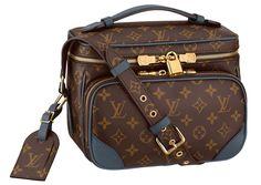 Louis Vuitton Monogram Slate Camera Bag