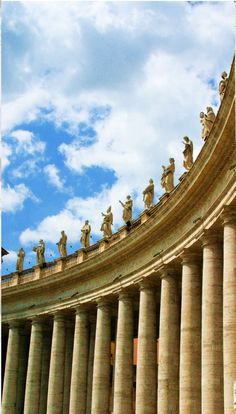 Art and Architecture Architecturia — Rome, Italy lovely art Visit Rome, Visit Italy, Rome Travel, Italy Travel, Oh The Places You'll Go, Places To Visit, Saint Peter Square, Saint Peter Rome, Voyage Rome