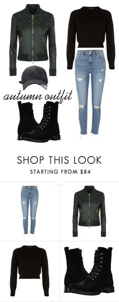 """94"" by andreea-narcisa-obreja on Polyvore featuring River Island, La Perla, Helmut Lang and Frye"
