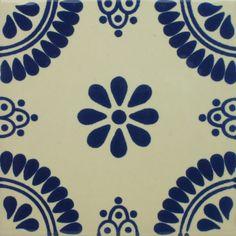 Especial Decorative Tile - Madrid – Mexican Tile Designs