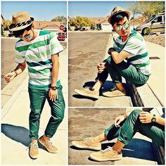 Macho Moda - Blog de Moda Masculina: Looks com Calça Verde Masculina, pra inspirar