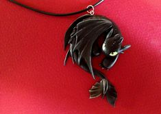 How to train your dragon, toothless, night fury, dragon, necklace