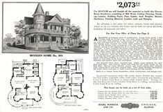 sears home kits 1900 - Bing images