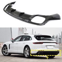 Are you looking for a Porsche modification?Congratulations, you have found it. @JCSportline produces a carbon fiber rear bumper diffuser for Porsche Panamera 17-19. The production process is more than twenty steps. This is your best choice ML-XM311  Carbon Fiber Rear Diffuser Valance for Porsche Panamera 971 4S Hatchback 4-Door 2017-2019  #Porsche #PorschePanamera #carbonfiber #rearbumperdiffuser #diffuser #Porsche971 #carbonfiberautoparts #cartuningservices #autorepair #cardesigner #europe Porsche Parts, Porsche Panamera, Car Parts, Carbon Fiber, Valance, Diffuser, Congratulations, Europe, Canopy Beds
