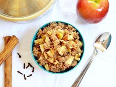 This #apple #walnut #quinoa is packed with #healthy goodness! #recipe