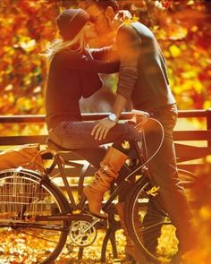 True bicycle romance….