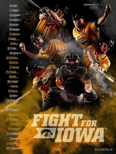 See all the latest and greatest college athletics posters and graphic design work! Sports Graphic Design, Graphic Design Posters, Sports Team Photography, Photoshop Ideas, Adobe Photoshop, Cool Posters, Ad Design, Print Ads, Baseball