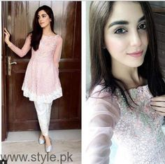 See Maya Ali at Shuakat Khanum Breast Cancer Awareness Campaign