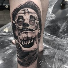 Can You See All Three Images Hidden In This Tattoo? by the New Zealand based tattoo artist Matt Jordan.