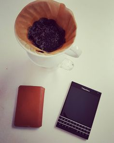 #inst10 #ReGram @greens.15: Be classic be productive #blackberry #blackberrypassport #teamblackberry #bellroy #pourovercoffee #vegan #plantbased #vegetarian #greens #flatlay #coffee #morning #hario  Thanks @bellroy @blackberry for creating wonderful products  #BlackBerryClubs #BlackBerryPhotos #BBer #BlackBerryPassport #Passport #QWERTY #Keyboard