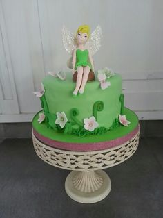 Tinkerbell cake By delidelicius