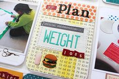 project life weight loss - Google Search Weight Loss Binder, Weight Loss Journal, How I Lost Weight, Need To Lose Weight, Weight Watchers Tips, Project Life Cards, Life Page, Healthy Diet Recipes, Smash Book