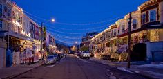 Christmas on 34th Street. Hampden, MD