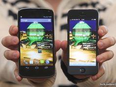 Google Nexus 4 vs iPhone 5 en vídeo, dos aspirantes al mejor smartphone del año cara a cara