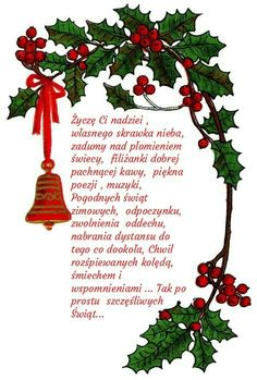 Kartka świąteczna 🎅⛄🌲🎅⛄🌲 Christmas Wishes, All Things Christmas, Christmas Time, Christmas Ornaments, Polish Christmas, Christmas Greeting Cards, Projects To Try, Diy Crafts, Holiday Decor