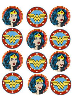 Image result for free Wonderwoman logo printables