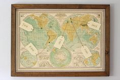 World map table plan Wedding Table Numbers, Table Plans, Our Wedding, Wedding Dress, Big Day, Vintage World Maps, Finding Yourself, Place Cards, Wedding Planning