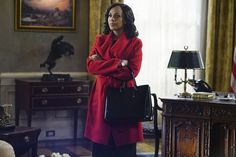 Pin for Later: 11 Shows to Stream on Netflix to Ease the Symptoms of Your Grey's Anatomy Withdrawal Scandal Olivia Pope Outfits, Olivia Pope Style, Scandal Fashion, Kerry Washington, Signature Style, Style Inspiration, Stylish, Coat, Women
