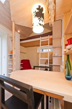 Modest Student Micro-Cottage is a Mere 12 Square Meters