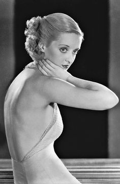 Bette Davis in her younger days. 1930s