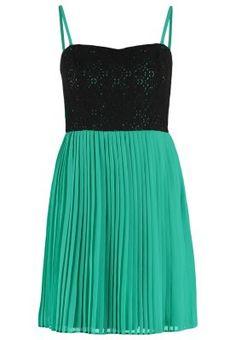 Vestido de cóctel - green/black