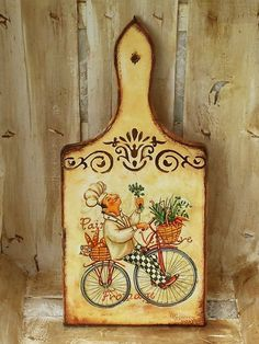 Pin on Decoupage Wooden Painting, Tole Painting, Fabric Painting, Decoupage Art, Decoupage Vintage, Wood Crafts, Diy And Crafts, Inspiration Artistique, Foto Transfer