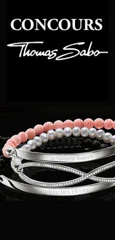 Gagnez un bracelet Thomas Sabo. Fin le 4 septembre.  http://rienquedugratuit.ca/concours/gagnez-un-bracelet-thomas-sabo/