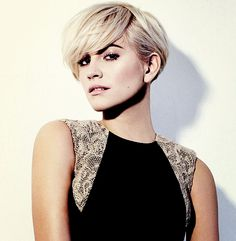Reminds of a cross between and pixie and a short bob.  I like it