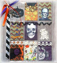 Halloween Pocket Letter with DCWV